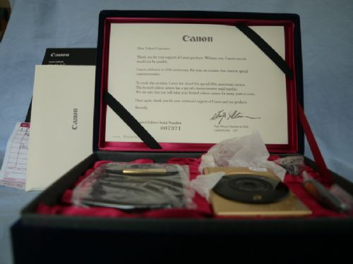 '    GOLD  ' CANON IXUS IX240 GOLD SPECIAL EDITION APS FILM CAMERA OUTFIT BOXED -UNUSED-RARE- £199.99